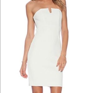 NBD white dress
